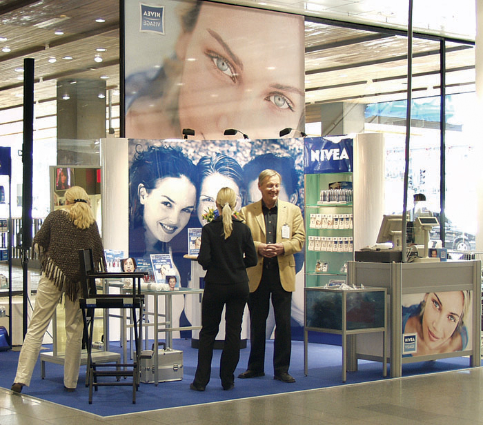 Nivea in department stores