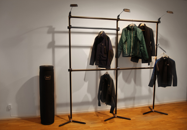 Stage as clothes hanger